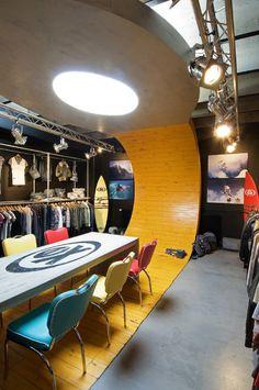 Ex Raw State (design showroom & fashion store) by Unicum , via Behance