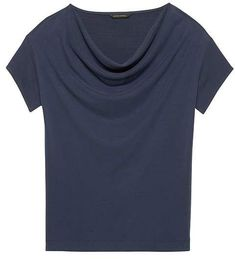 Banana Republic Sandwash Modal Cowl-Neck Top I like this neck style Soft Classic, Classic Beauty, Top Banana, Cowl Neck Top, Stitch Fix Stylist, David Zyla, My Style, Ethereal, Detective