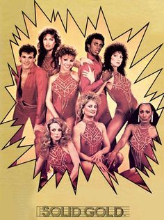SOLID GOLD dancers!!! LOVED THIS SHOW. Sunday's at 4:00.  I would love to find an old episode to watch...