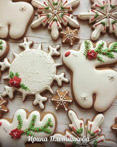 58 Ideas Cupcakes Decoration Navidad Decorating Supplies For 2019 Iced Cookies, Fun Cookies, Cupcake Cookies, Christmas Sugar Cookies, Holiday Cookies, Gingerbread Cookies, Noel Christmas, Christmas Treats, Christmas Baking