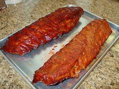 """wet"" or ""dry"" .. either way is good!!! BBQ Rib Rub & Mopping Sauce Recipes"