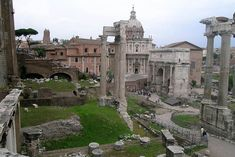 The Roman Forum is the oldest part of the city of Rome.