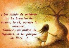 Un millón de palabras...un millón de lágrimas *