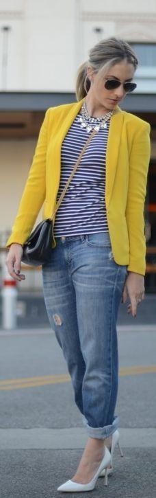 #jeweled #stripes | Cupcakes & Cashmere