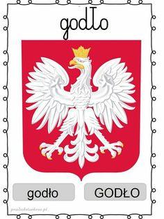 Poland Culture, Polish Words, Eagle Emblems, Lip Designs, Coat Of Arms, Paper Texture, Custom Stickers, Activities For Kids, Vibrant Colors