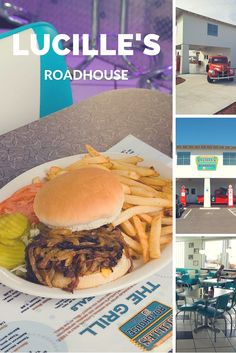 Lucille's Roadhouse packs Route 66 charm into a 1950s style diner with delicious food. Come for the nostalgia and stay for the burgers and chicken fried steak.