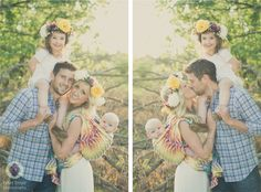 Babywearing boho family photo shoot #babywearing #familyphotoshoot #bohofamilyphotoshoot