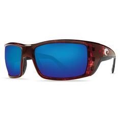 7d6047e382 Costa Del Mar PT10OBMGLP Men s Permit X-Large 580G Polarized Glass Blue  Mirror Lens Tortoise