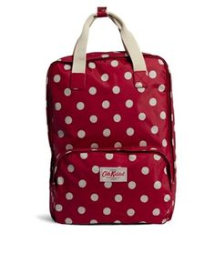 Buy Cath Kidston Button Spot Backpack at ASOS. With free delivery and return options (Ts&Cs apply), online shopping has never been so easy. Get the latest trends with ASOS now. College Bags, Pack Your Bags, Paperchase, Cath Kidston, Asos, Jet Set, Diaper Bag, Polka Dots, Latest Clothes