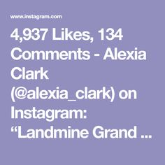 """4,937 Likes, 134 Comments - Alexia Clark (@alexia_clark) on Instagram: """"Landmine Grand You can do this as a circuit or just add one into your workout! Circuit landmine…"""""""