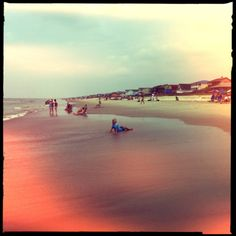 Holden Beach, NC; Chunky Lens, Blanko Noir Film, No Flash, Taken with Hipstamatic