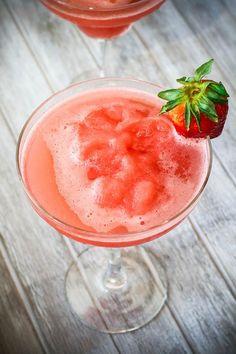 Vilken blir din favorit i vår? Daiquiri, Summer Drinks, Cocktail Drinks, Strawberry Daquiri, Grapefruit, Watermelon, Panna Cotta, Bacon, Beverages