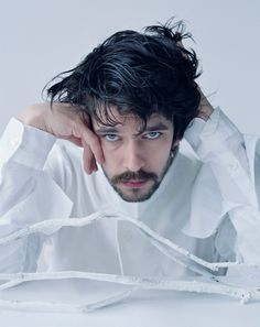 Ben Whishaw. He's adorable, with all that black hair and those BLUE eyes! enough to make someone just melt! ;)