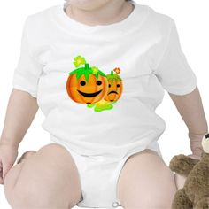 Shop Jack o lanterns baby bodysuit created by halloween_tshirts.