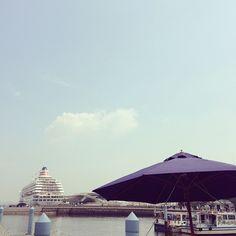 #船 #飛鳥2 #横浜 #空 #yokohama #japan #日本 #みなとみらい