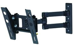 cool AVF EL204B-A Eco-Mount EL204B-A Flat-Panel TV Mount - Multi-Position, Black - For Sale