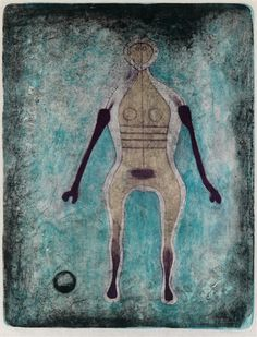 Artwork by Rufino Tamayo, La Négresse, Made of Color lithograph