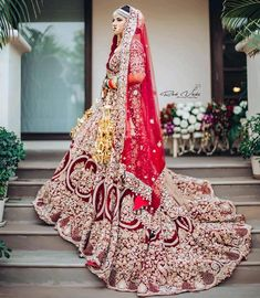 Looking for Bridal Lehenga for your wedding ? Dulhaniyaa curated the list of Best Bridal Wear Store with variety of Bridal Lehenga with their prices Wedding Lehenga Designs, Indian Wedding Lehenga, Pakistani Wedding Outfits, Designer Bridal Lehenga, Indian Bridal Outfits, Indian Bridal Fashion, Indian Bridal Wear, Asian Fashion, Wedding Lehanga