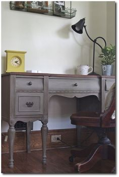 French Linen Chalk Paint Seen On Bread and Honey Blog
