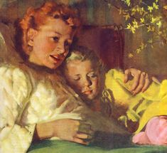 Late night snuggle ~ Harry Anderson