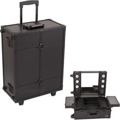 Makeup Studio Case w/Light...oh hell yes