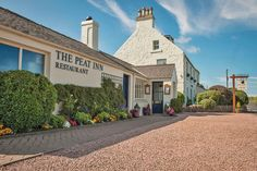 The Peat Inn in Fife, #Scotland. A Michelin starred restaurant-with-rooms with over 30yrs of outstanding experience