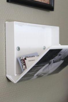 Antigua caja de VHS como marco para fotos con almacenaje oculto!!!