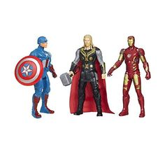 HALO NATION presents – set of there superheros: captain the usa, iron man and thor.with over 20 issues of articulations with integrated joints in neck and arms which permit versatile Infinity War, Thor, Captain America, Iron Man, Halo, Avengers, Arms, Presents, Superhero