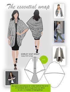 The essential wrap - El envoltorio esencial (divino para cuando no esta demasiado frio y la salida es una rapida al mercado!)