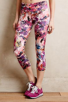 gorgeous Waterfall Floral Leggings - anthropologie.com $56