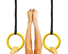Gymnastic Rings with Straps - Crossfit Training Workout Rings - Train for Gymnastics or Just for Fun - Better and More Durable Than Wood Dynamis http://www.amazon.com/dp/B00V3OHYBA/ref=cm_sw_r_pi_dp_HVvmwb01EBNWX