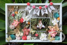...The Night Owl Scrapper...: Spring Themed Shadow Box