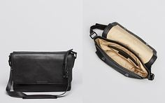 MARC BY MARC JACOBS Leather Messenger