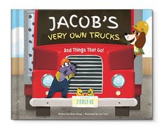 I See Me! Personalized Children's Books | My Very Own Trucks Personalized Book
