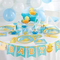 Duck Baby Shower Decorations, Duck Baby Shower Theme, Rubber Duck Baby  Shower, Rubber