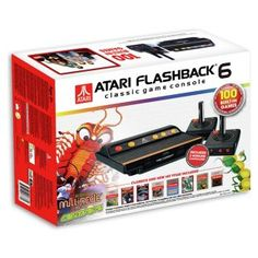 Buy Atari Flashback 6 Classic Game Console & 100 Built-In Games at Argos.co.uk, visit Argos.co.uk to shop online for Gadget and novelty gifts
