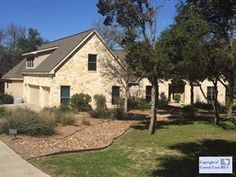 An example of good living in New Braunfels, Texas!