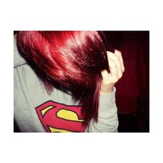red hair | Tumblr ❤ liked on Polyvore featuring girls, hair, people, pictures and red hair