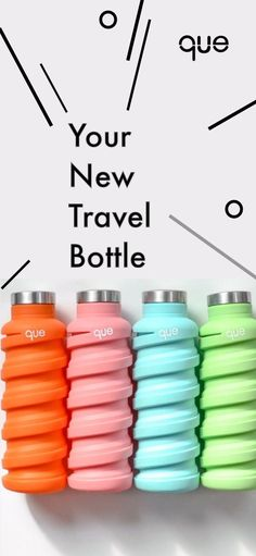 Collapsible & lightweight, que Bottle is the perfect travel bottle you can take everywhere you go! 10% of proceeds are donated to The Rainforest Trust to protect rainforest and save endangered animals. Volunteering around the world gives you a chance to see new places in a humanitarian way. | travel packing | travel USA | travel SE Asia | travel Asia | travel Europe | travel Africa | travel ideas | travel essentials | travel inspiration | travel backpack | travel the world | travel photos…