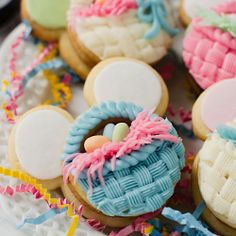 Click Pic for 28 Easter Cookie Recipes - Mickey Mouse Easter Basket - Easy Cookie Recipes for Kids | Easter Treats