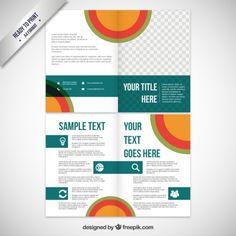 Business brochure template Free Vector => More at designresources.io