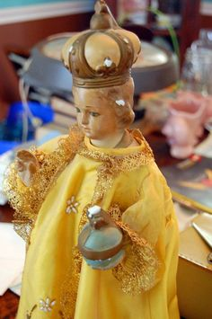 Sto Nino cleanse my mind and heart :make me like a child: simple;honest;and always trusting in YOUR tender love and guardianship. Thank You.