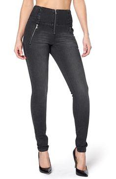 De sejeste Happy Holly Jeans Alice Sort denim fra Halens Happy Holly Underdele til Dame i lækker kvalitet
