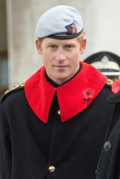 Prince Harry visit the Field of Remembrance at Westminster Abbey, London, Britain - 07.11.13