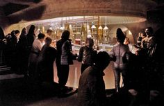 Mos Eisley Cantina General information Chronological and political information The Mos Eisley Cantina, also known as Chalmun's Cantina, was a drinking and dining establishment located in the city of Mos Eisley on the desert world of Tatooine. Although a dimly lit tavern known for frequent outbreaks of violence, it was a popular stopping point for pilots, smugglers, alien misfits and renegades.