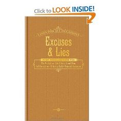 Excuses and Lies for All Occasions (Lines for All Occasions)