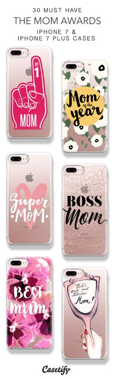 30 Must Have The Mom Awards Protective iPhone 7 Cases and iPhone 7 Plus Cases. More Quote iPhone case here > https://www.casetify.com/collections/top_100_designs#/?vc=ZxUeGB3Iiu