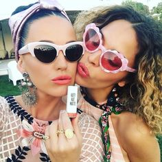 Pin for Later: Stars Flock to Coachella For Some Festival Fun Katy Perry