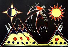Day and Night - Contemporary Canadian Native, Inuit & Aboriginal Art - Bearclaw Gallery