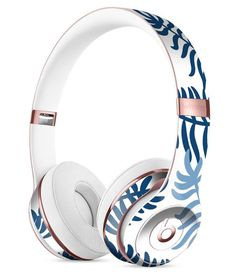 Whispy Leaves of Blue Full-Body Skin Kit for the Beats by Dre Solo 3 Wireless Headphones Cute Headphones, Sports Headphones, Wireless Headphones, Beats Headphones, Cowboy Boots Women, Cowgirl Boots, Western Boots, Riding Boots, Timberland Style